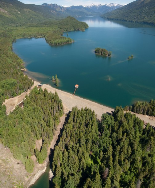 Kachess Drought Relief Pumping Plant