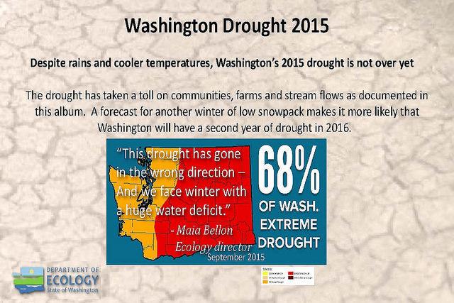 WA Drought 2015 & Prediction for 2016