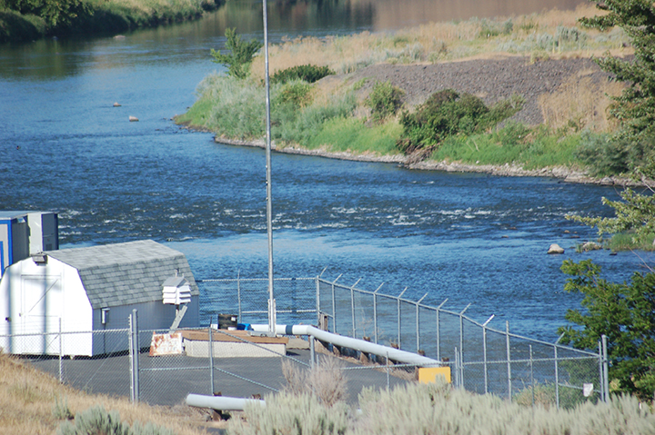 Yakima River at Kennewick Canal