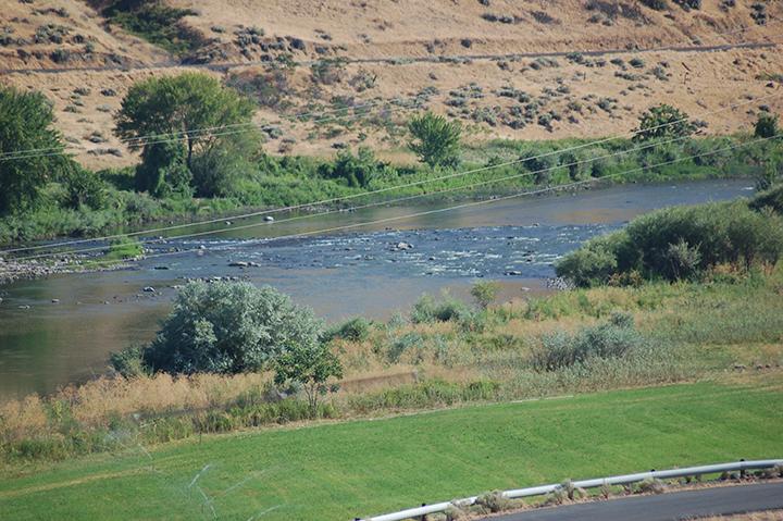 Yakima River at Prosser