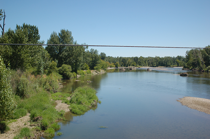 Yakima River at Toppenish