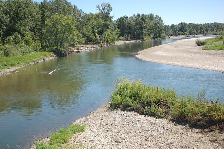 Yakima River at Zillah