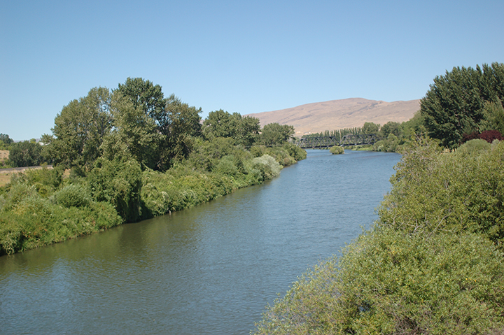 Yakima River north of Selah